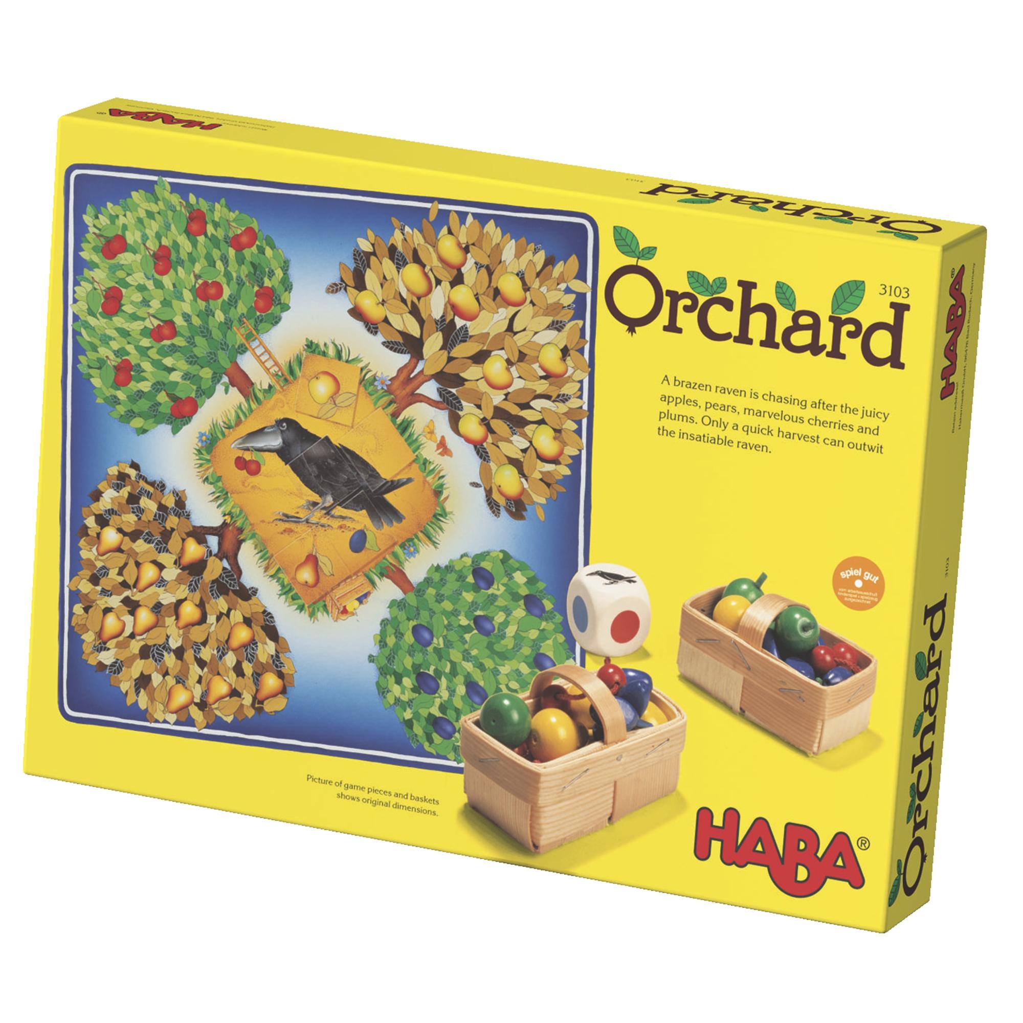 Joc cooperativ cu zaruri, Haba, Livada, 3-6 ani
