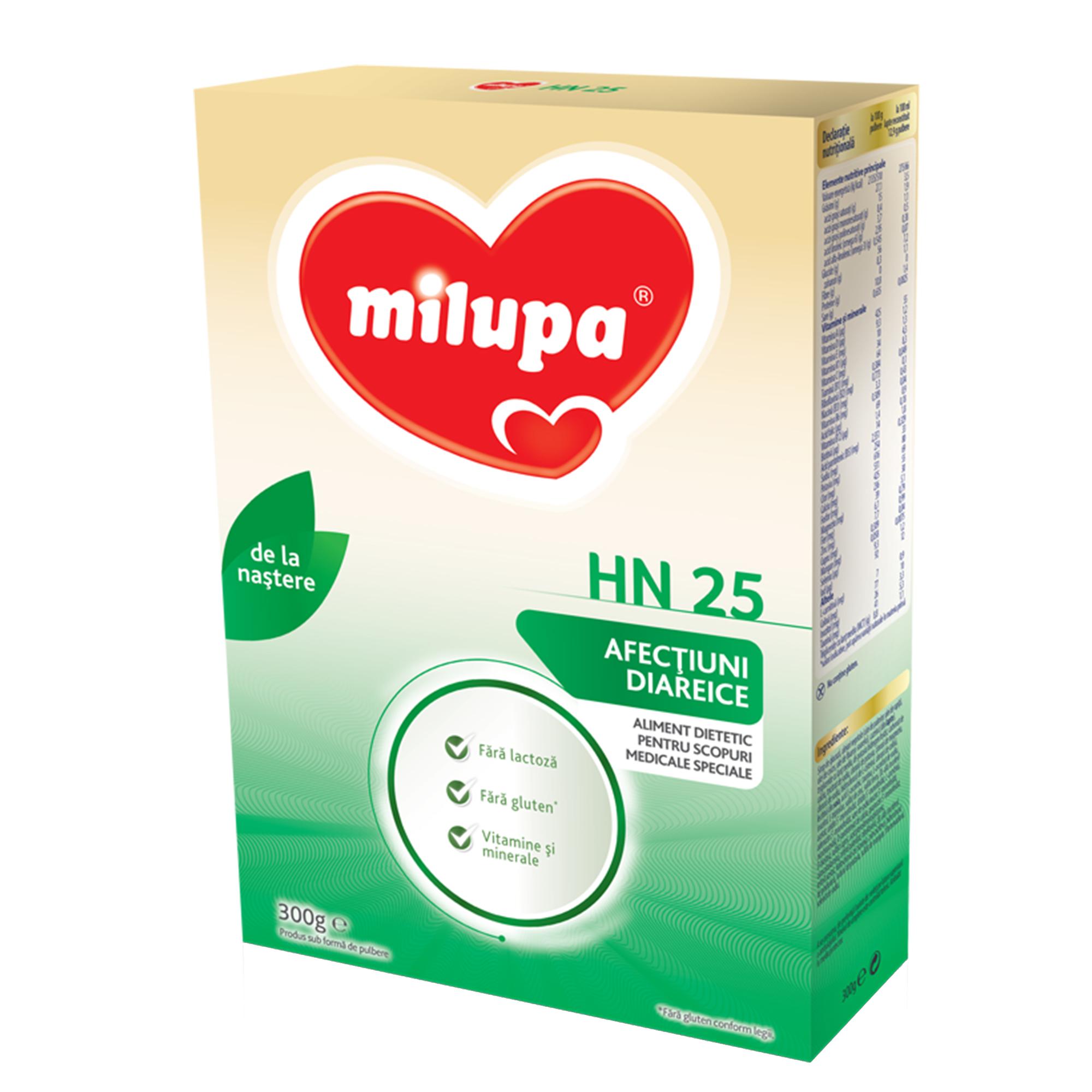Lapte praf Milupa Milumil, HN-25, 300g, 0luni+