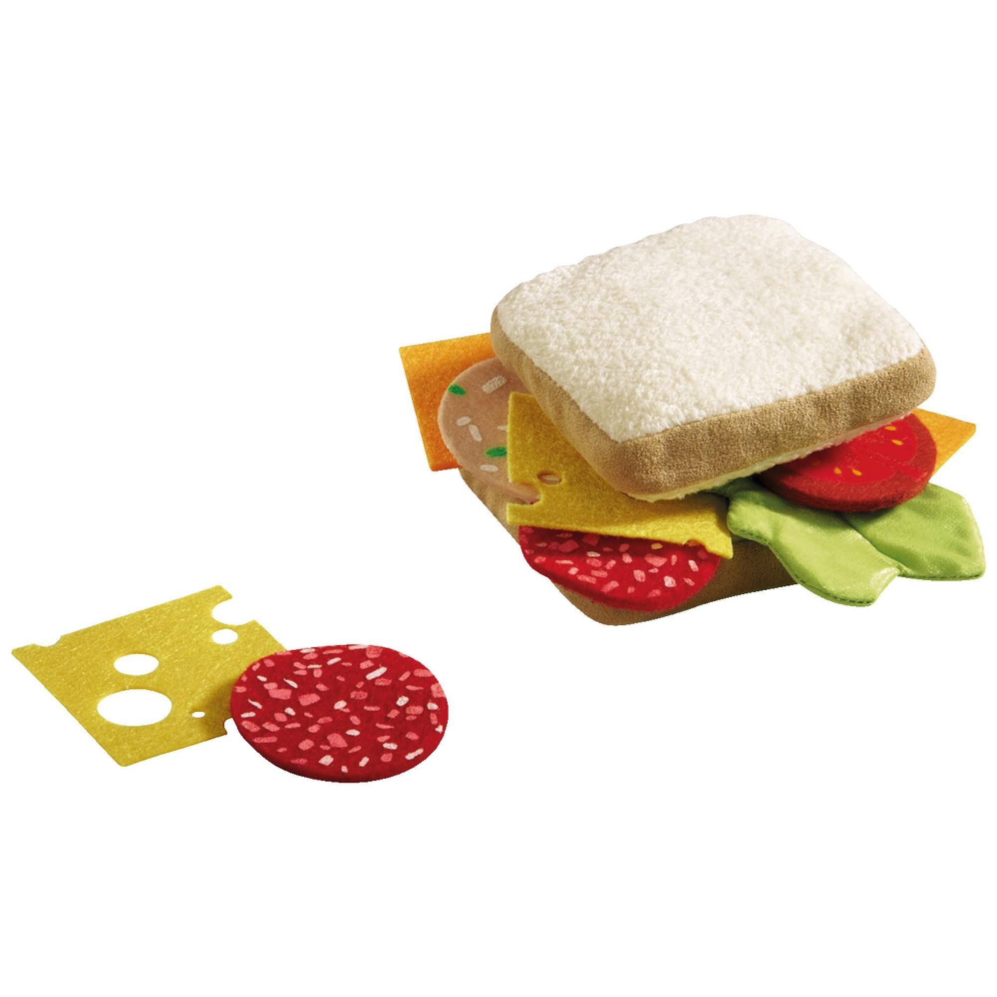 Jucarie din plus sub forma de sandwich, Haba, 3ani+