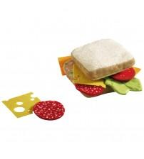 Jucarie din plus sub forma de sandwich, Haba, 3ani4