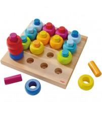 Joc de indemanare, Haba, Inelele colorate, 2-6 ani