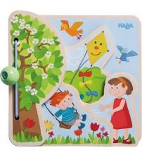 Carticica pentru copii, Haba, Cele patru anotimpuri, 10luni+