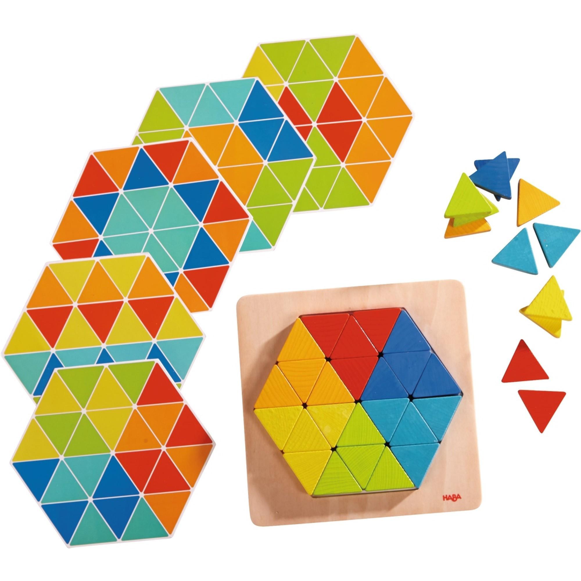 Joc de aranjare Haba, Piramidele magice, 2ani+