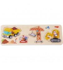 Joc tip puzzle, Haba, Santier, 12luni+
