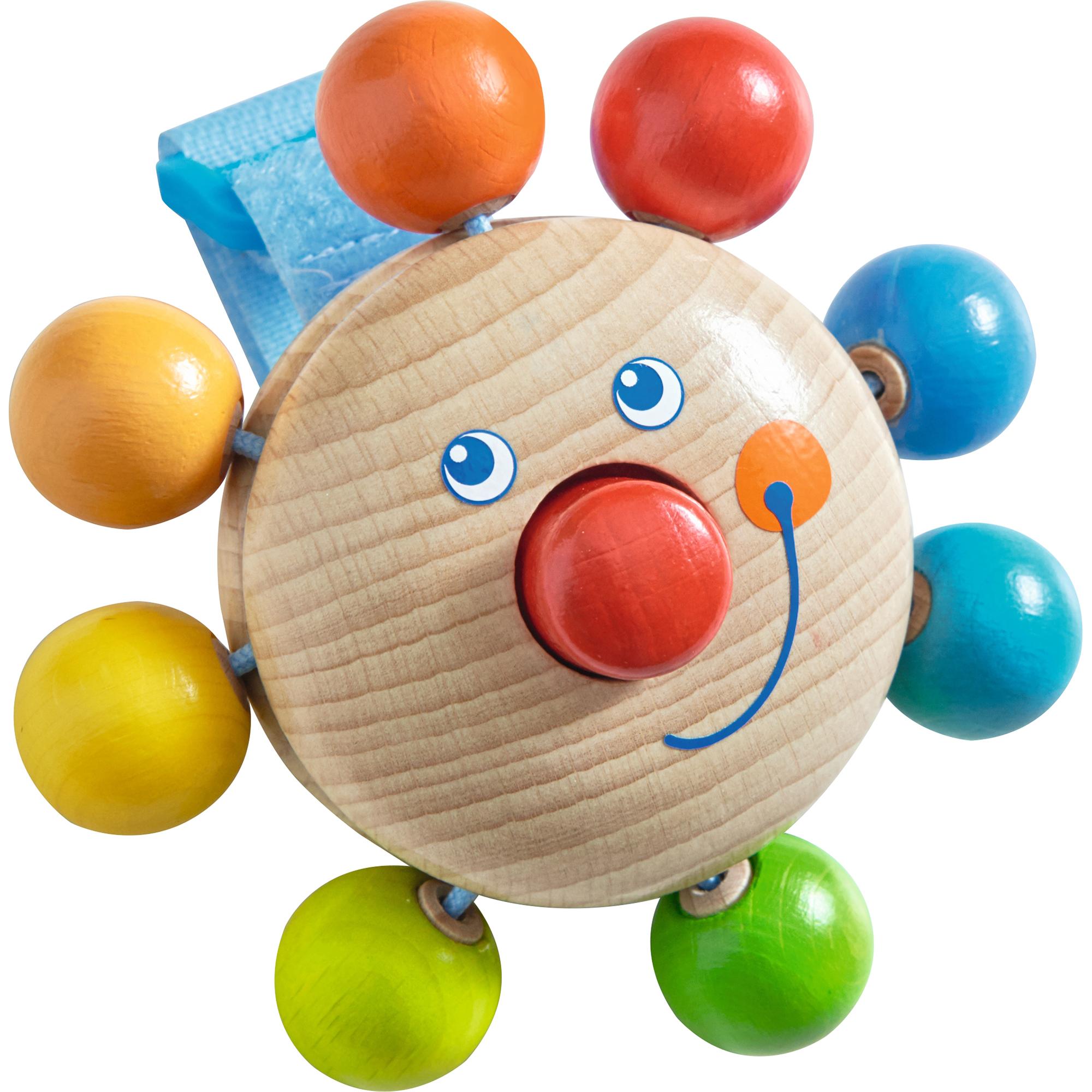Jucarie pentru carucior, Haba, Clown, 12luni+