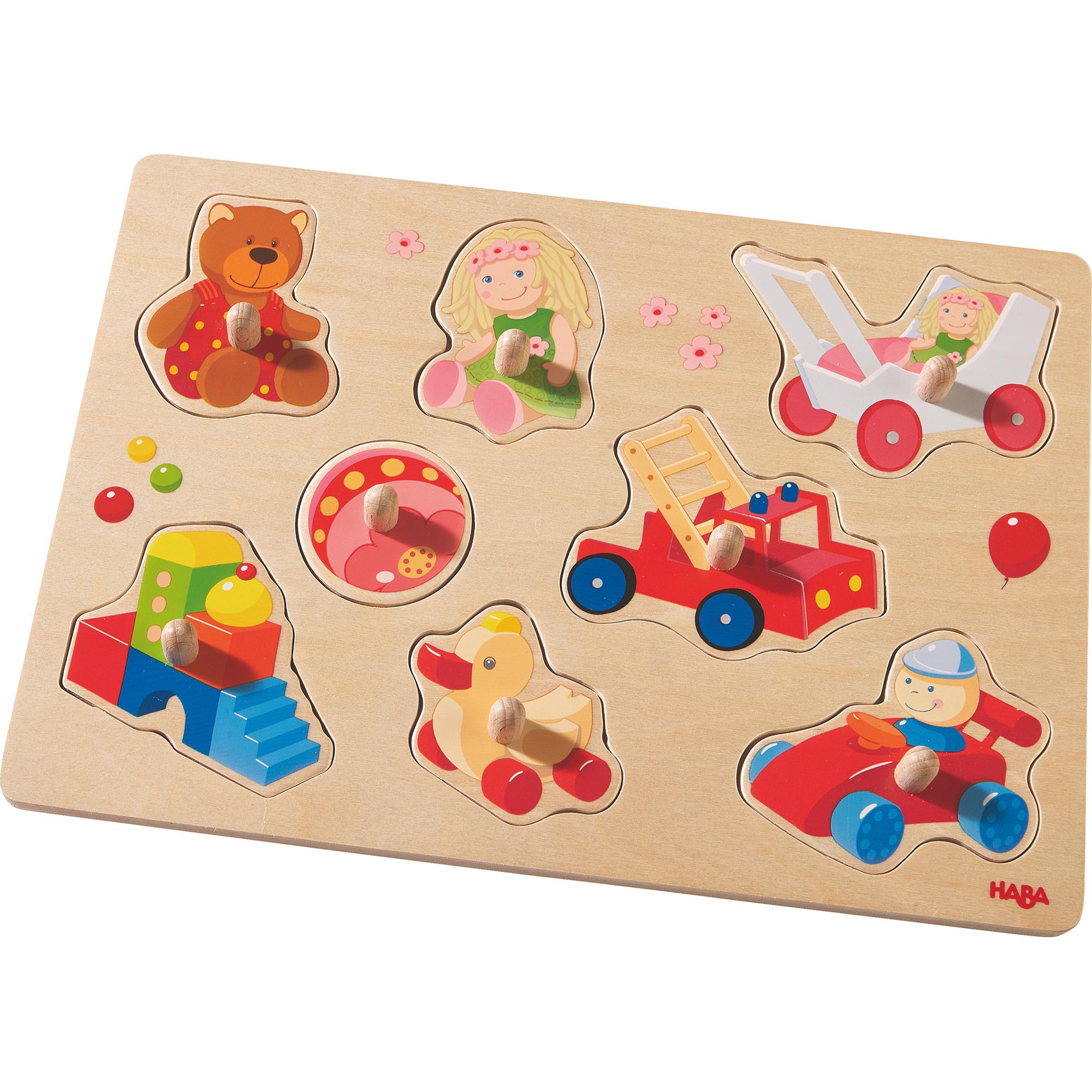 Joc tip puzzle, Haba, Primele mele jucarii, 8 piese, 12luni+
