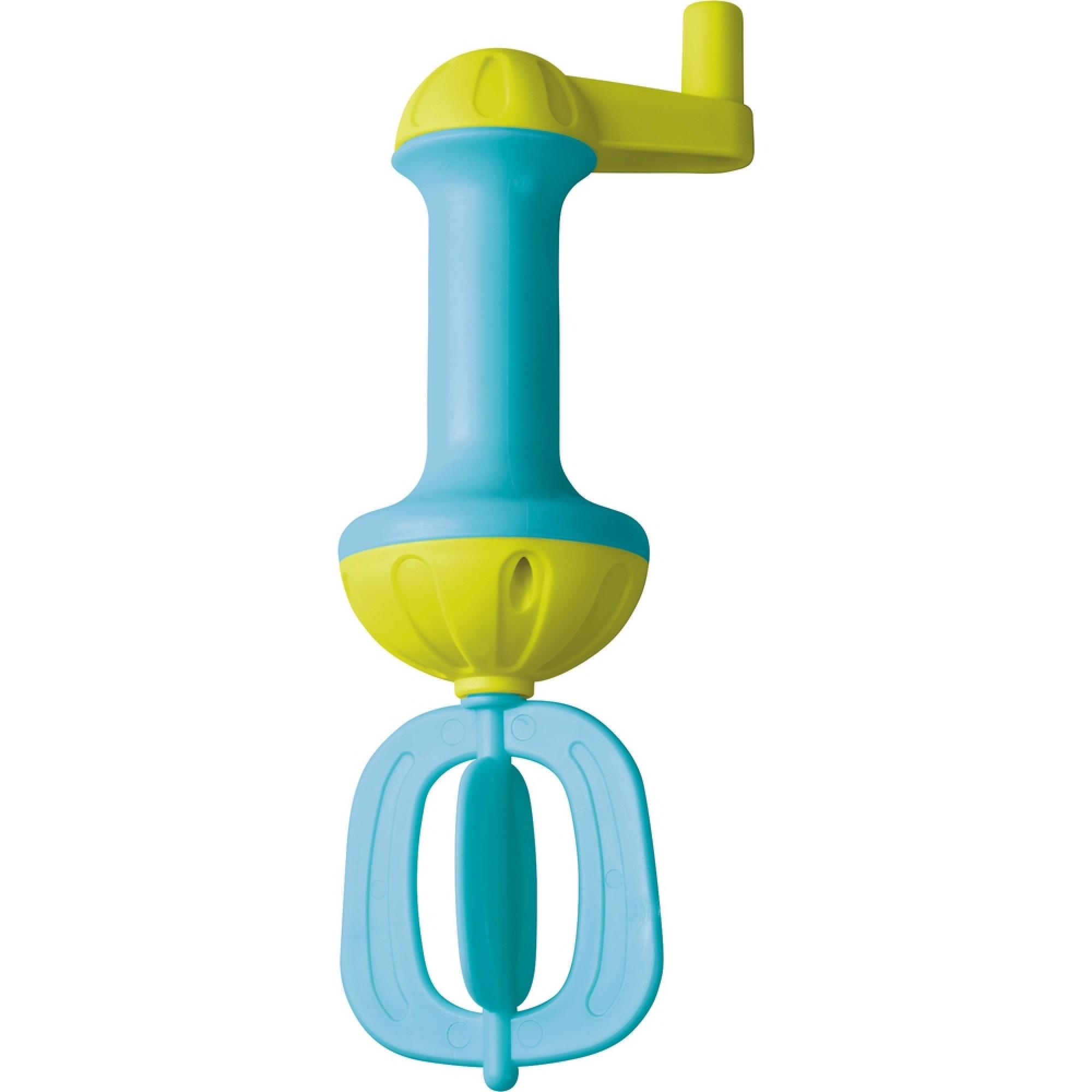 Mixer de jucarie pentru baie, Haba, albastru, 3ani+