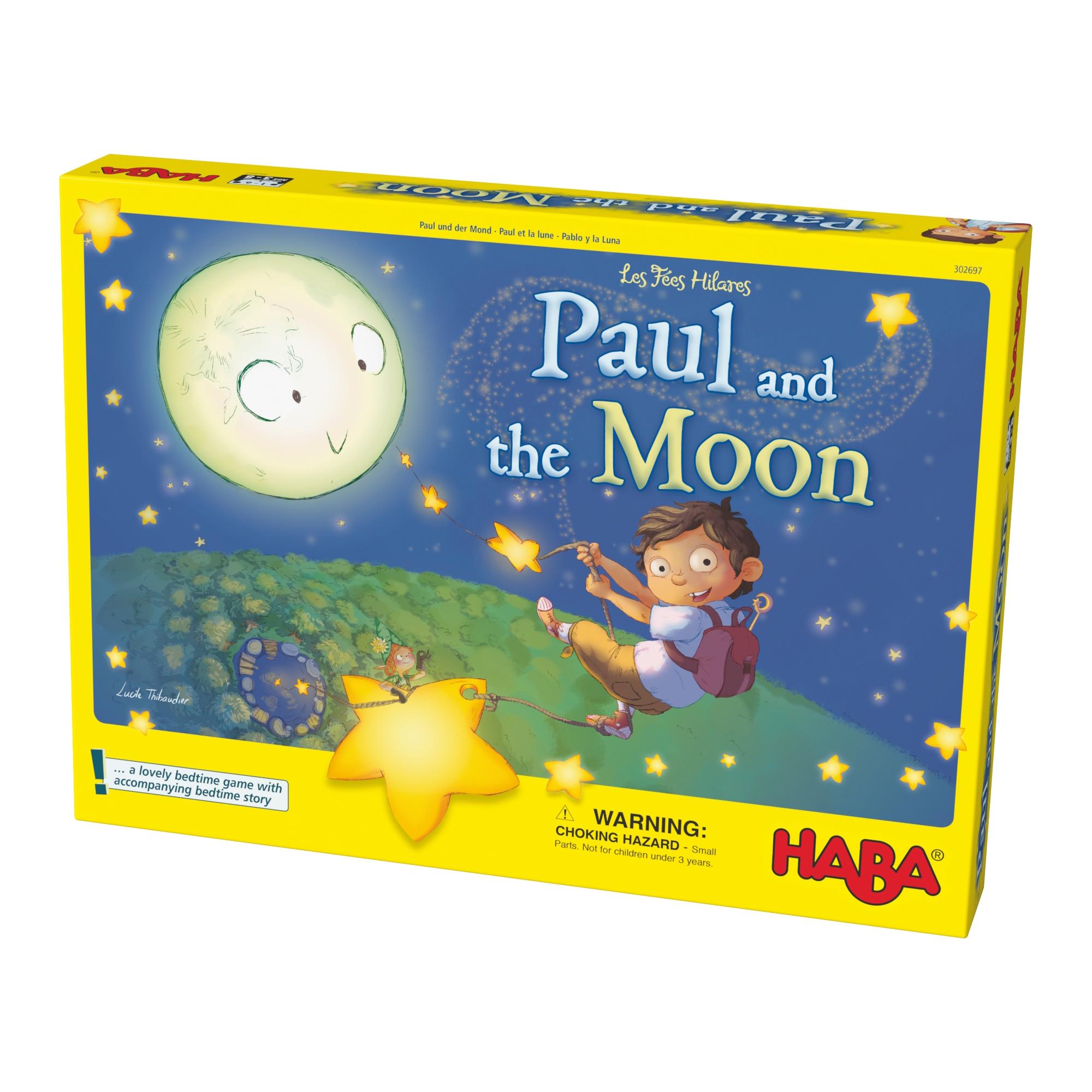Joc de memorie, Haba, Paul si luna, 3ani+