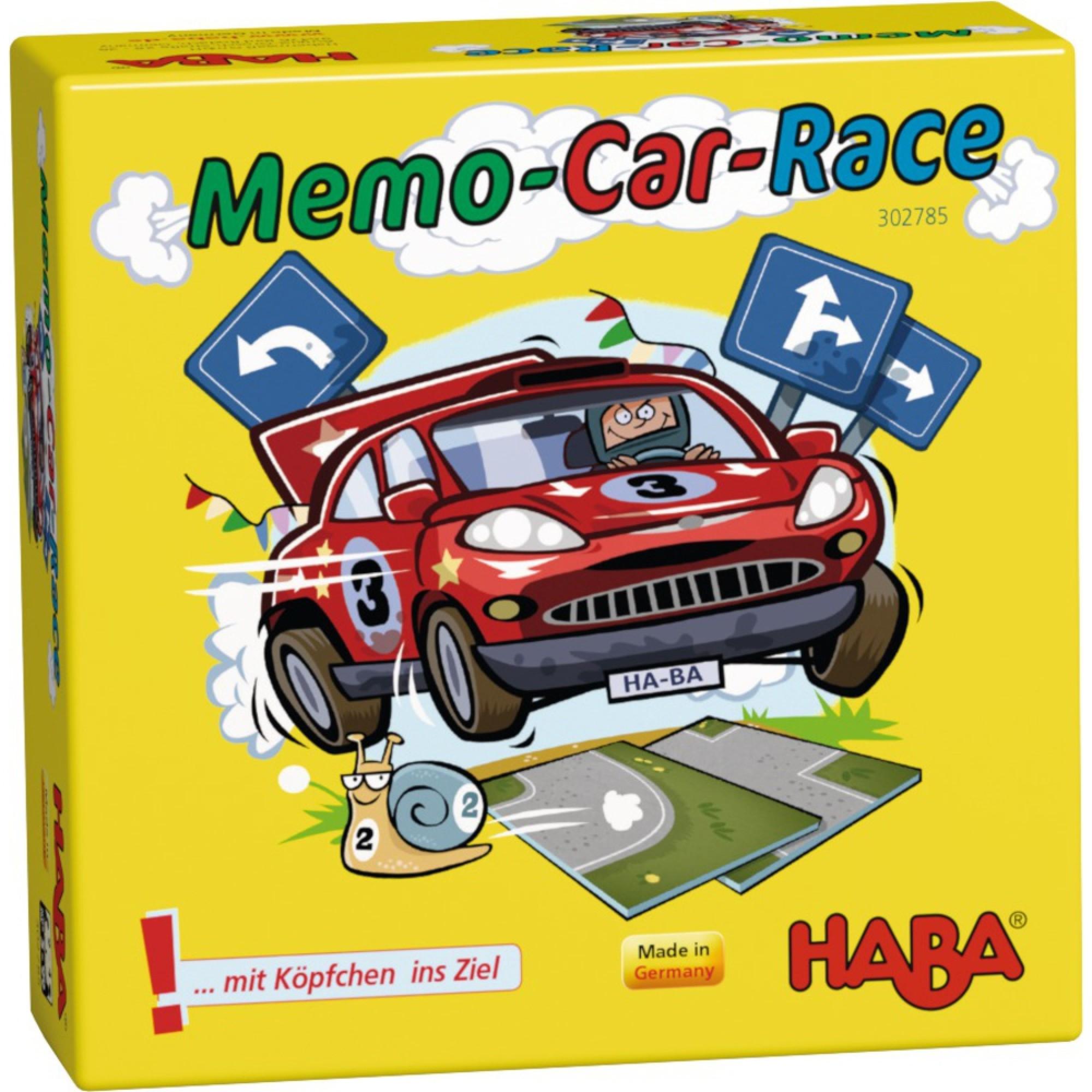 Joc de memorie, Haba, Cursa de masini, 5ani+