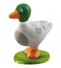 Figurina din plastic, Micutii prieteni, Haba, Ratusca, 3ani+
