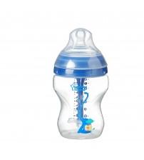 Biberon Advanced Anti-colic cu Sistem de Ventilatie, Tommee Tippee, 260 ml, baieti, 1 buc
