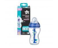 Biberon Advanced Anti-colic cu Sistem de Ventilatie, Tommee Tippee, 340 ml, baieti, 1 buc