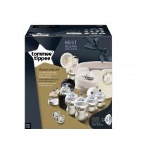 Set sterilizator pentru microunde si pompa de san manuala, Tommee Tippee