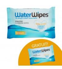 1+ 1 GRATUIT Servetele demachiante pentru fata Water Wipes - 24 buc +