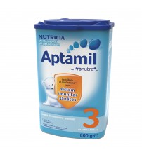 Lapte praf Nutricia, Aptamil 3, 800g, 9-12 luni