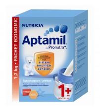 Lapte praf Nutricia, Aptamil Junior 1+, 1200g, 12luni+