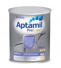 Lapte praf Nutricia pentru alergii si intolerante usoare, Aptamil Pepti 2 DHA, 450g, 6luni+