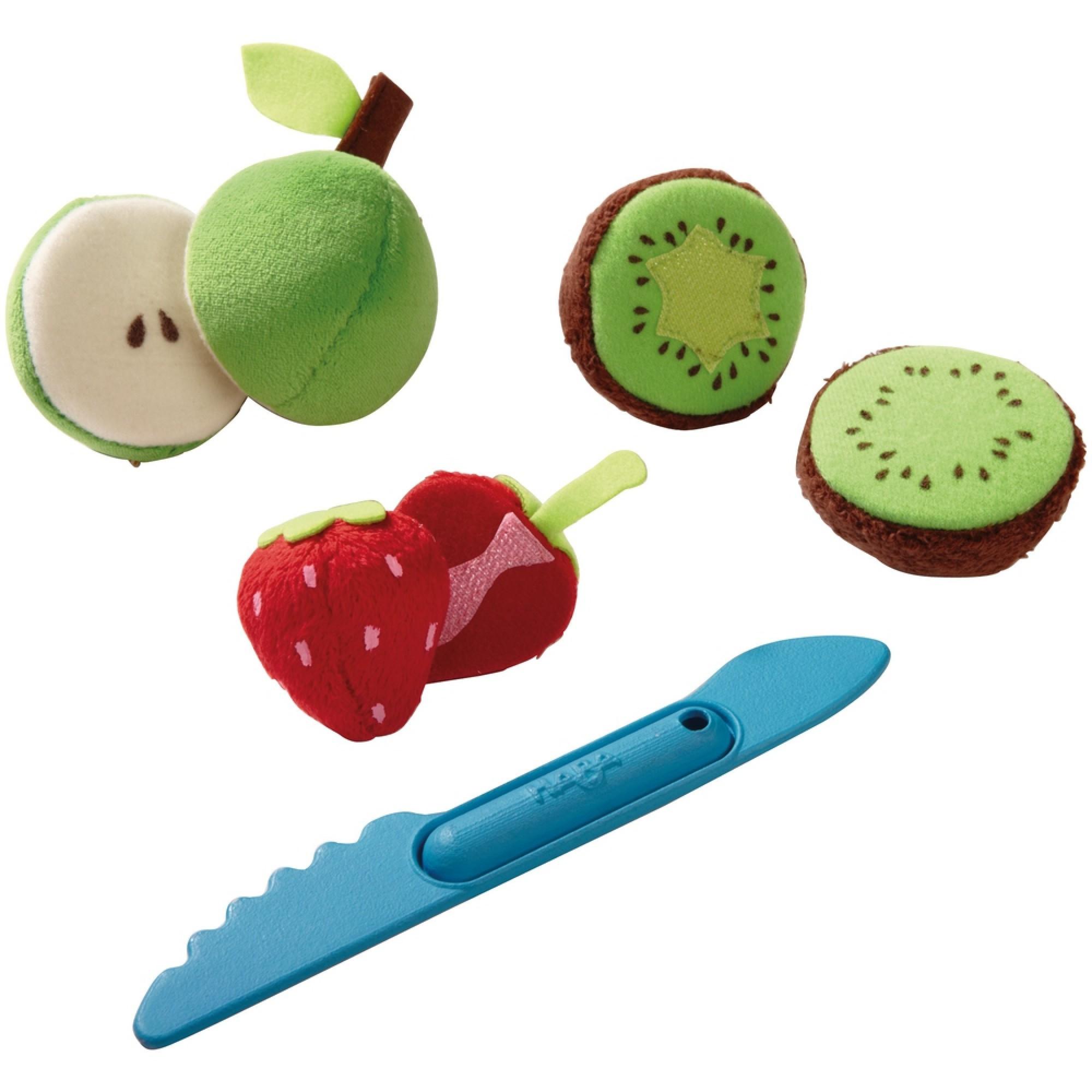 Jucarii de plus, Haba, Mix de fructe colorate, 3ani+