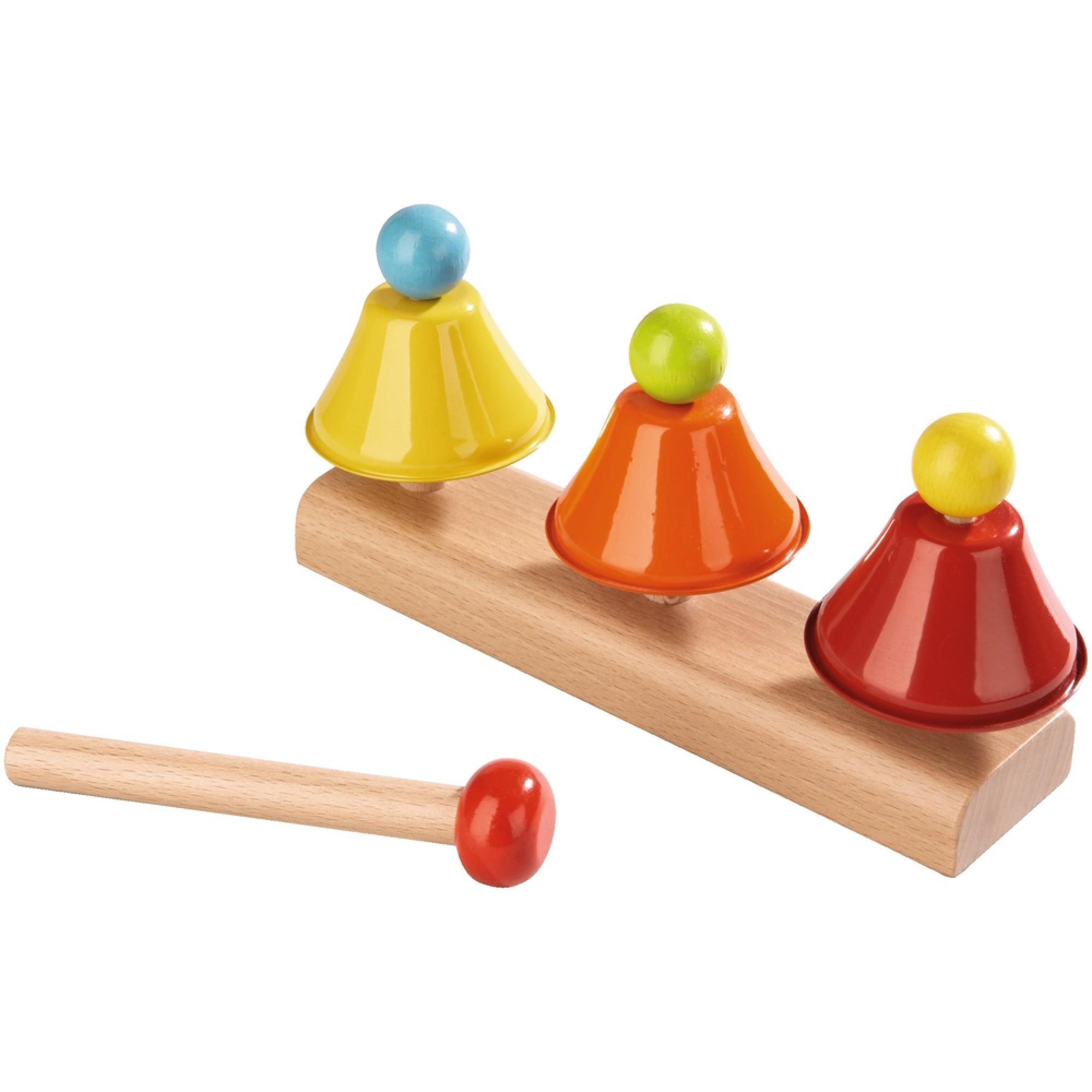 Instrument muzical sub forma de clopotei, Haba