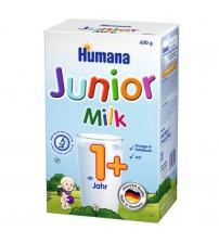 Lapte praf, Humana Junior 1+, 600 g, 12 luni+