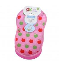 Baveta Ultrabib, Annabel Karmel, Pink apples, 1 buc, 3luni+