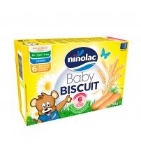 Biscuiti pentru copii, Ninolac, 6 luni+, 90g