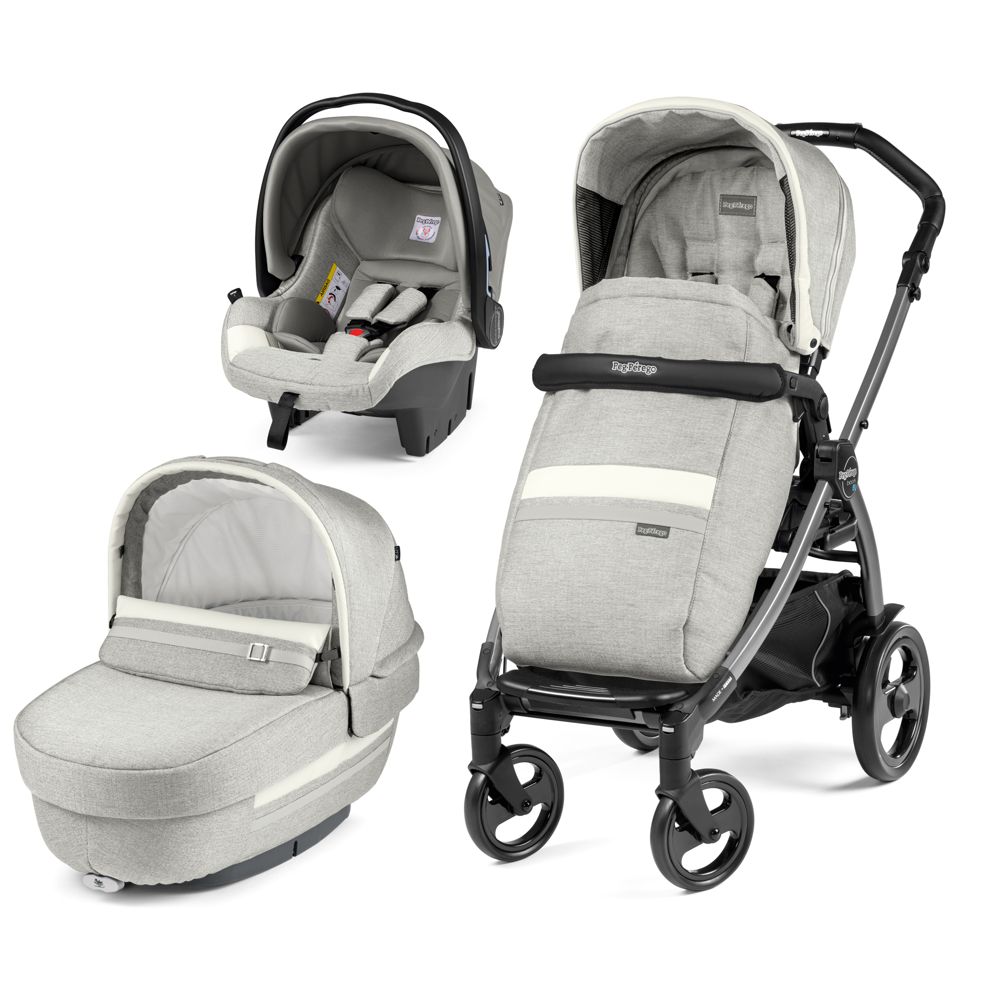 Carucior 3 in 1, Peg Perego, Book Plus 51 Titania Luxe