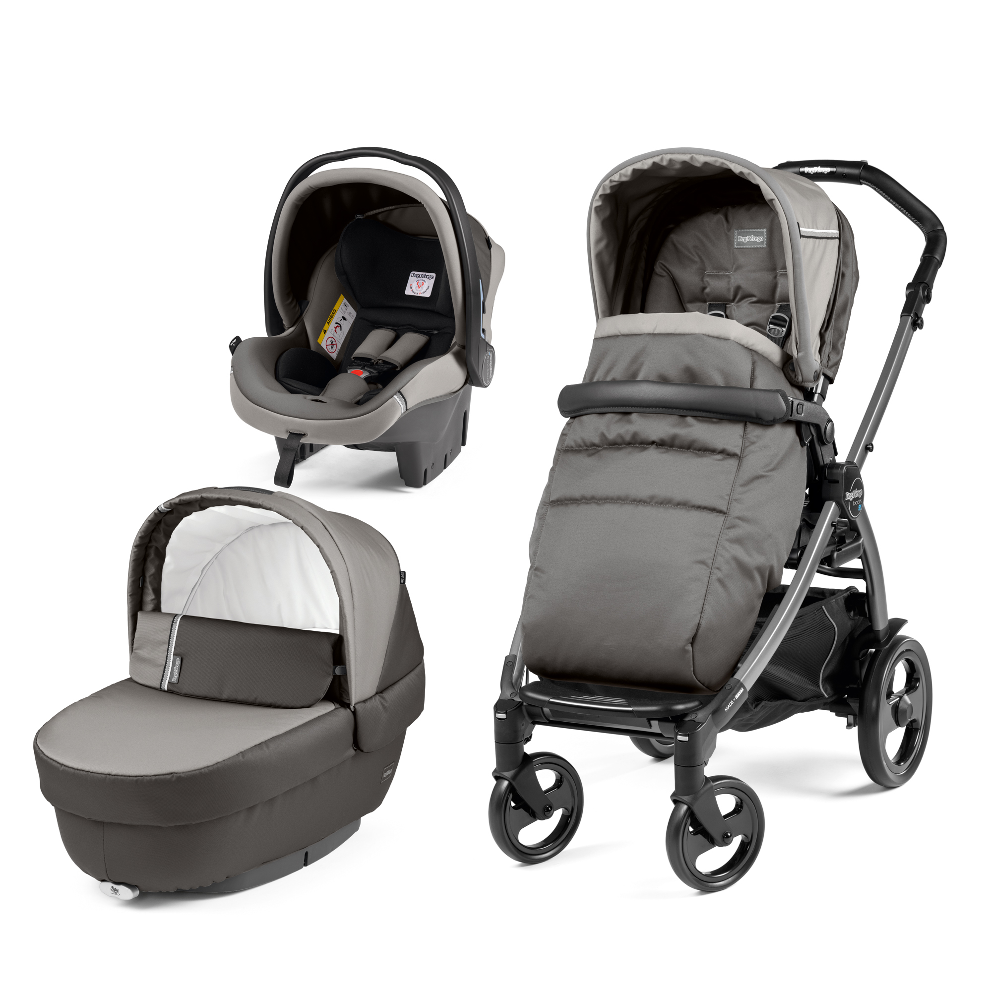 Carucior 3 in 1, Peg Perego, Book Plus 51 Titania Class