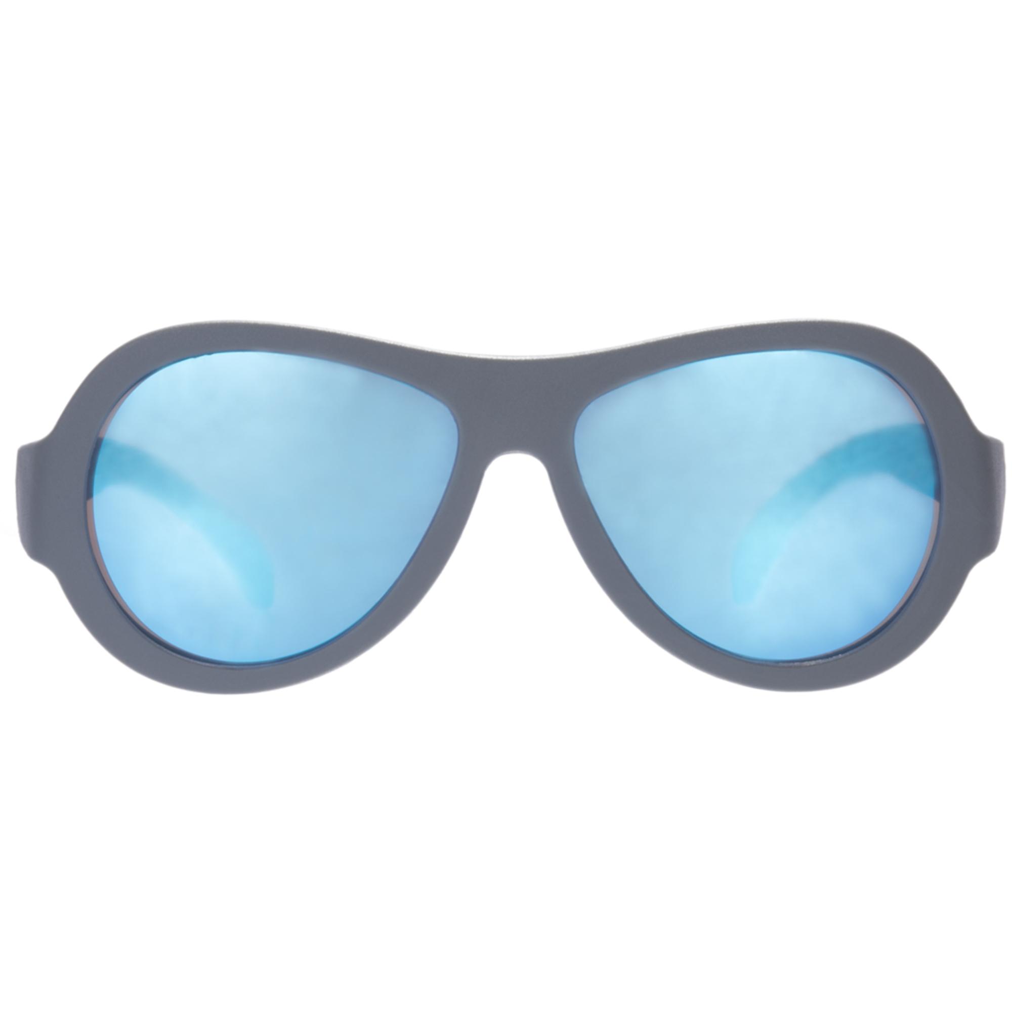Ochelari de soare pentru copii, BABIATORS, Premium-Blue Steel Junior, 0-2 ani