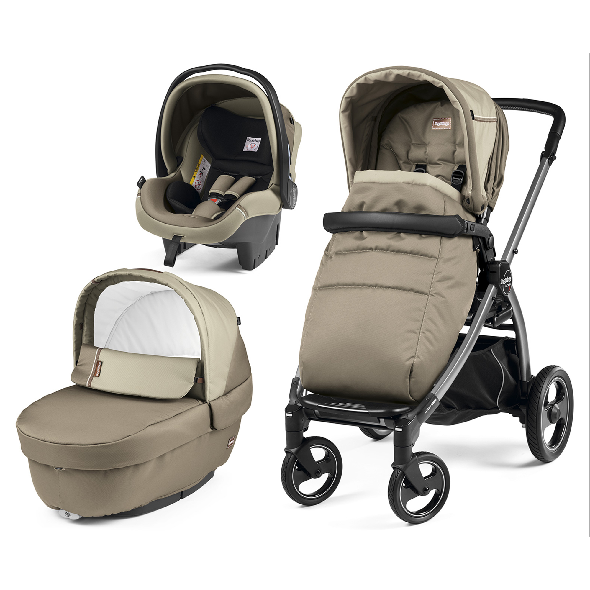Carucior 3 In 1, Peg Perego, Book Plus S, Titania, Class