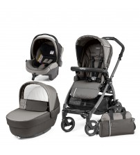 Carucior 3 in 1, Peg Perego, Book Plus 51 S Black Class