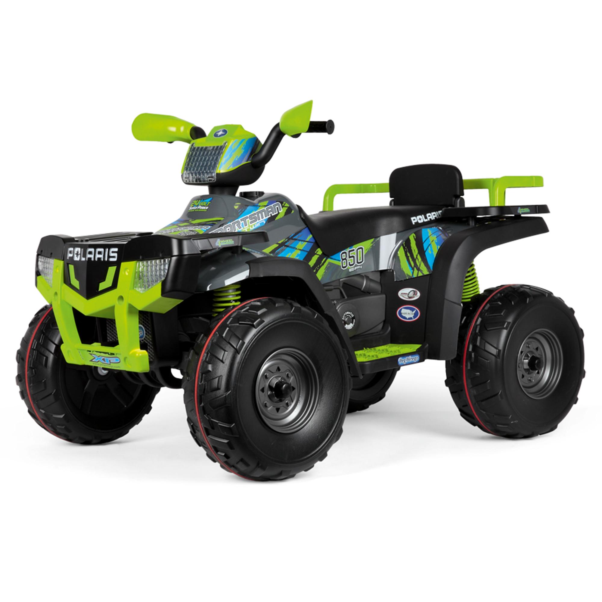 ATV, Peg Peregio, Polaris Sportsman 850 Lime