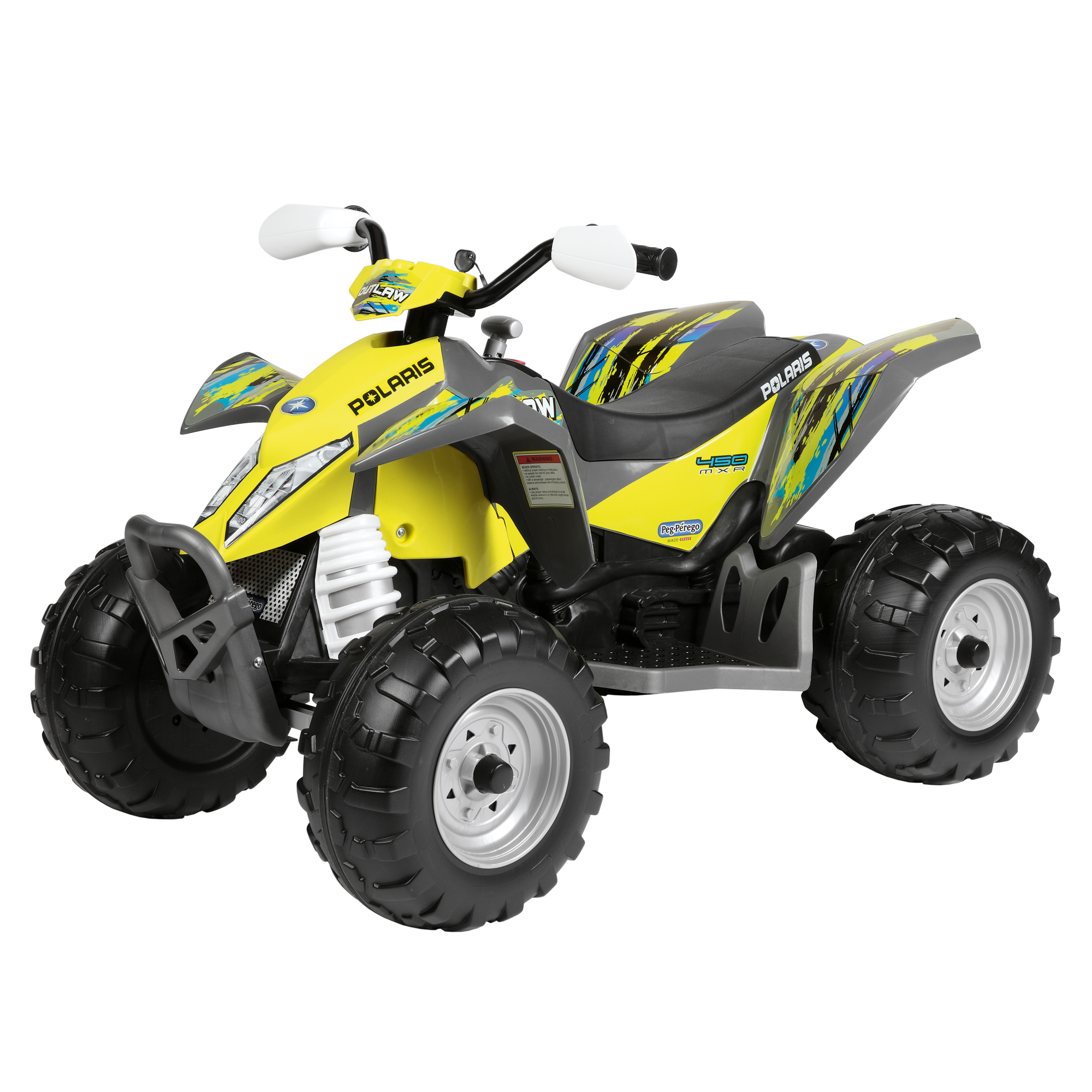 ATV Polaris Outlaw Citrus, Peg Perego