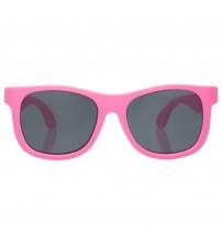 Ochelari de soare pentru copii, BABIATORS, Think Pink! Classic, 3-5 ani