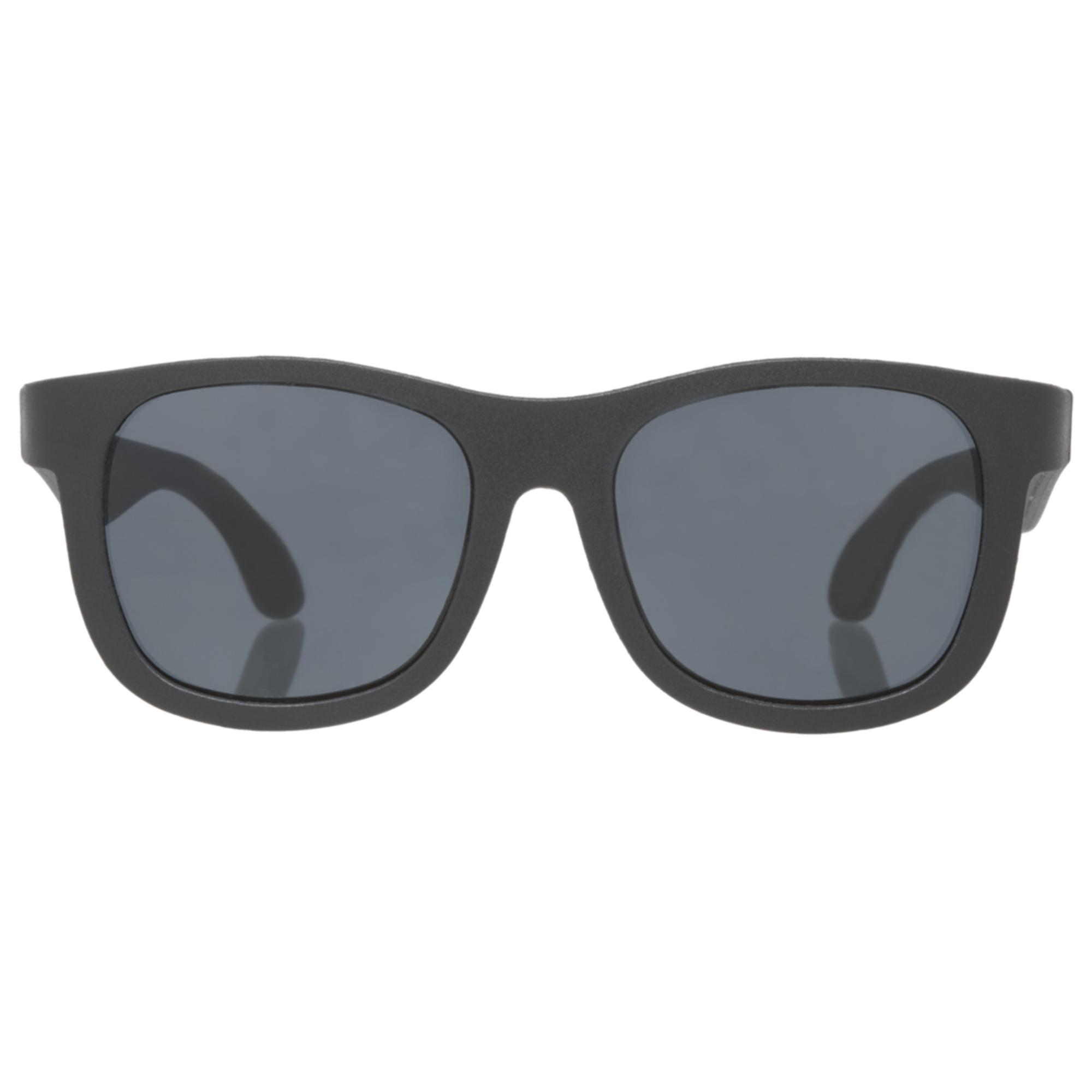 Ochelari de soare pentru copii, BABIATORS, Navigator Black Ops Black Junior, 0-2 ani