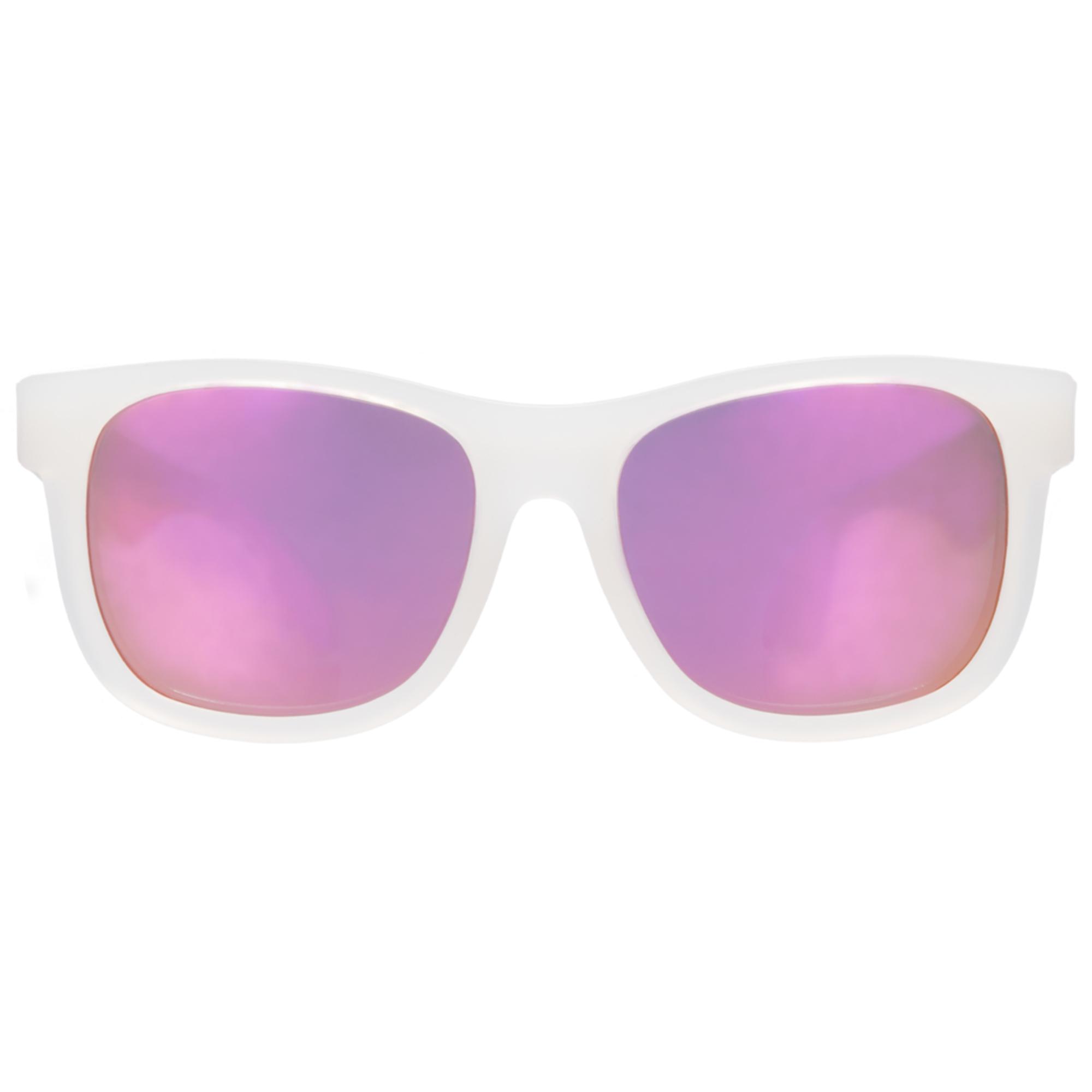 Ochelari de soare pentru copii, BABIATORS, Premium-Pink Ice Junior, 0-2 ani