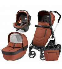 Carucior 3 In 1, Peg Perego, Book Plus S, Black&White, Team