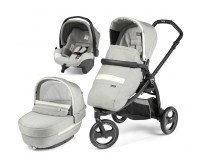 Carucior 3 in 1, Peg Perego, Book Scout, Matt Black, Bloom