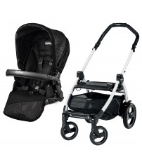 Carucior Peg Perego, Book 51 S  White, Geo Black