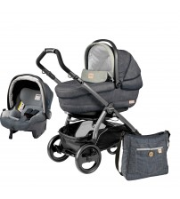 Carucior 2 in 1, Peg Perego, Book 51 Titania, Denim