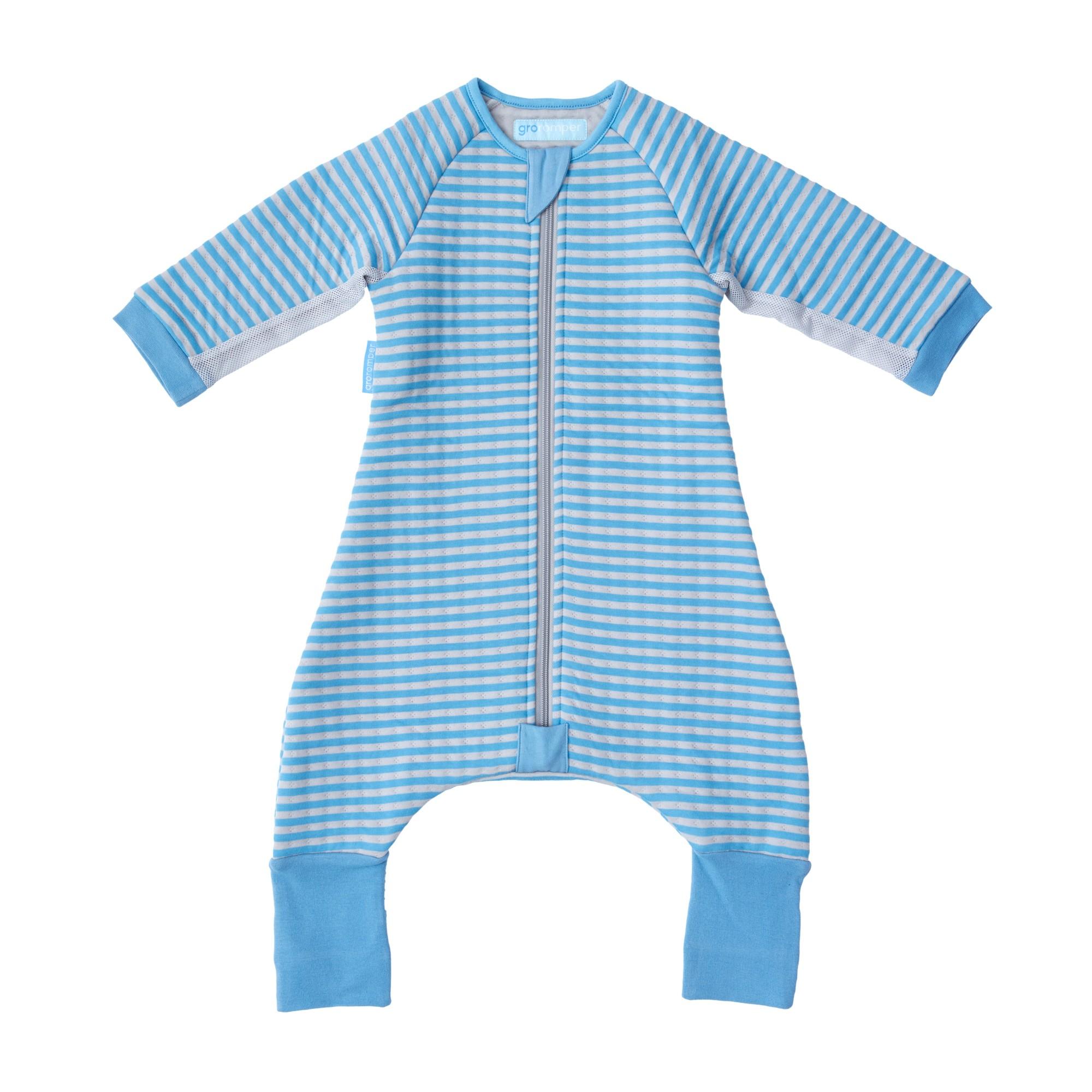 Body pentru Bebelusi Gros, Dungi Albastre, 12 - 24 luni, Gro