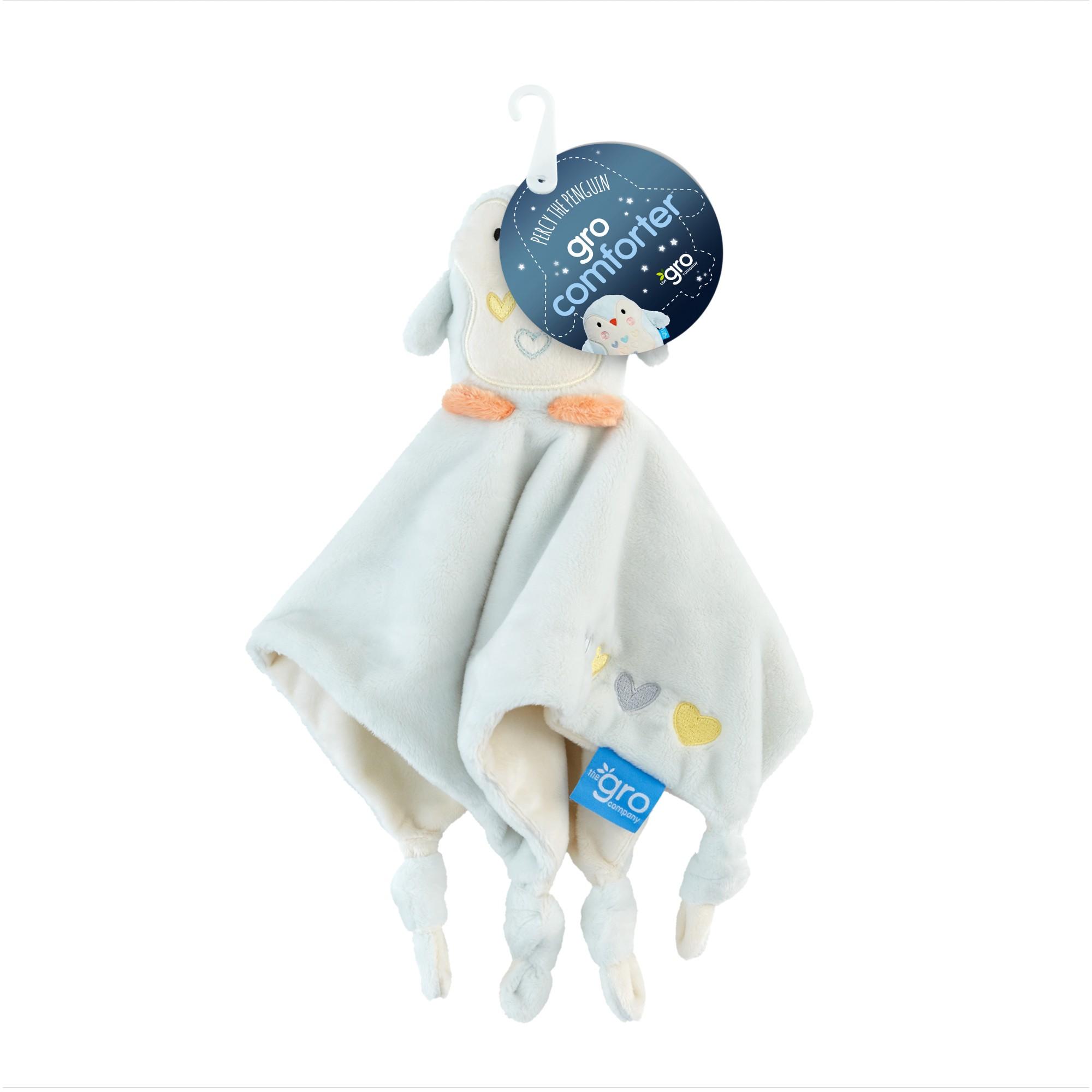 Jucarie pentru confort, Pinguinul Percy, 0 luni+, Gro