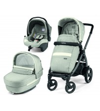 Carucior 3 In 1, Peg Perego, Book Plus 51 S, Titania, Luxe Pure