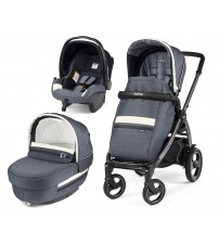 Carucior 3 In 1, Peg Perego, Book Plus 51 S, Titania, Luxe Mirage