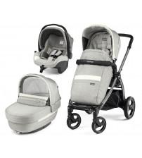 Carucior 3 In 1, Peg Perego, Book Plus S, Titania, Luxe Pure