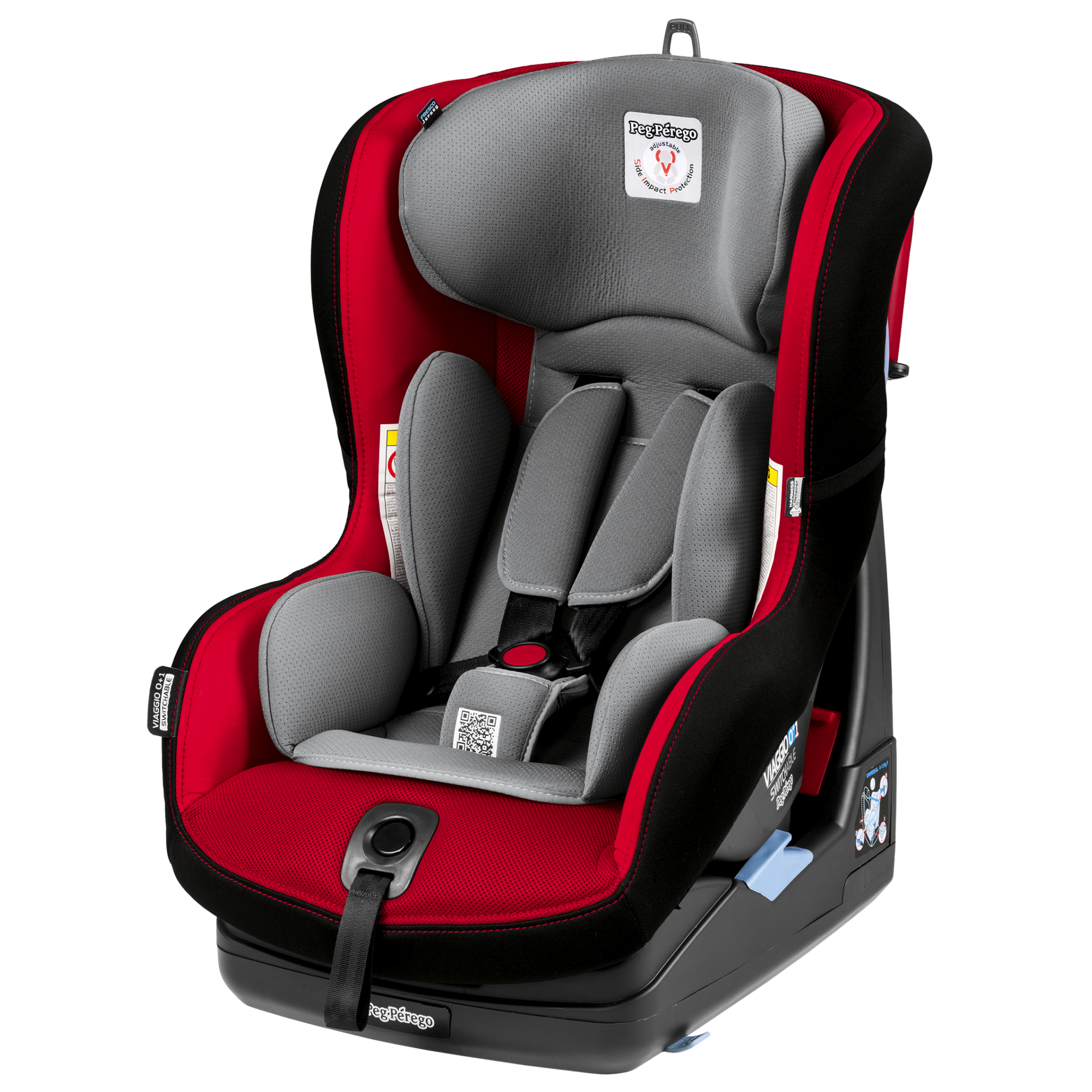 Scaun Auto Viaggio Switchable, Peg Perego, 0+/1, Rouge