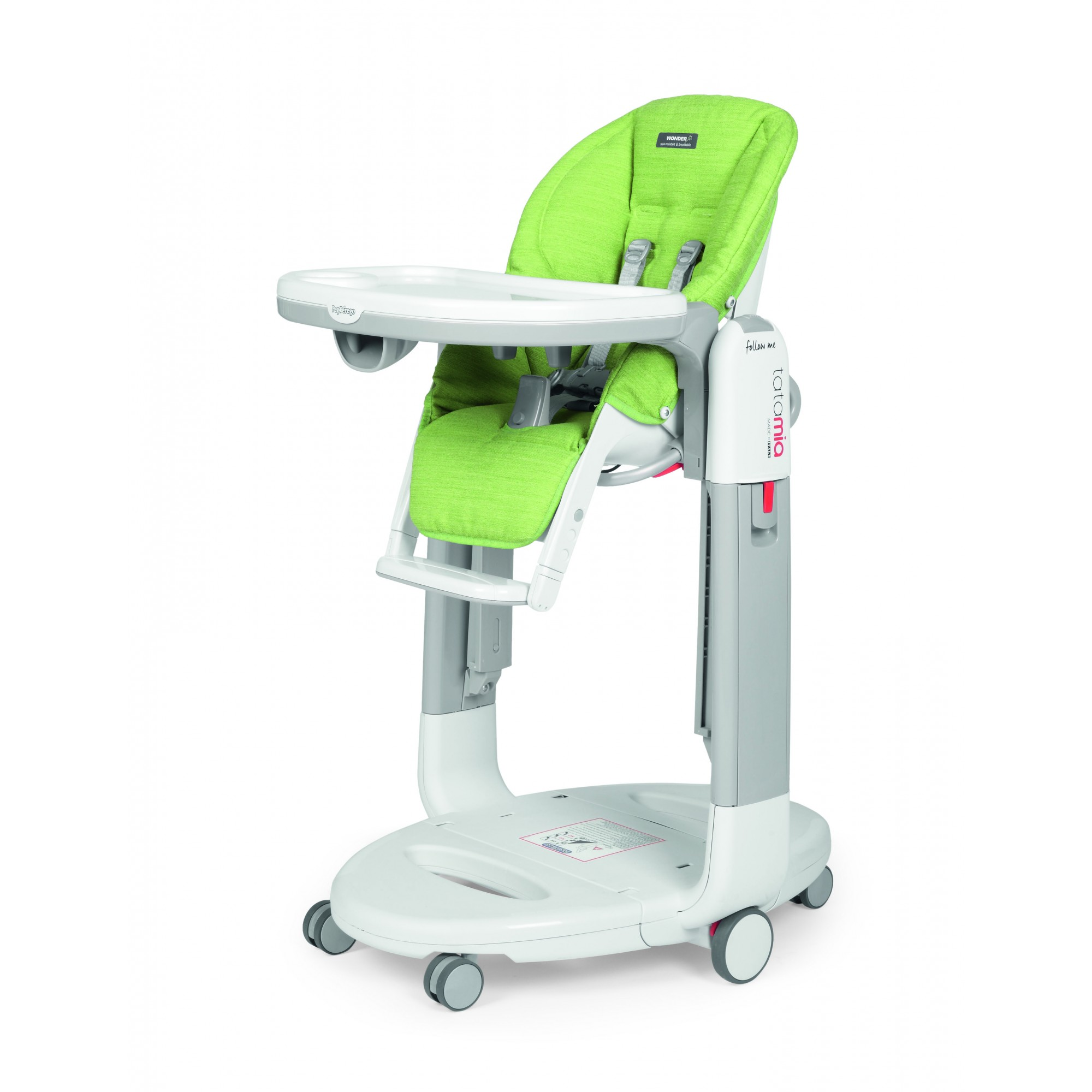Scaun De Masa 3 in 1, Peg Perego, Tatamia Follow Me WonderGreen
