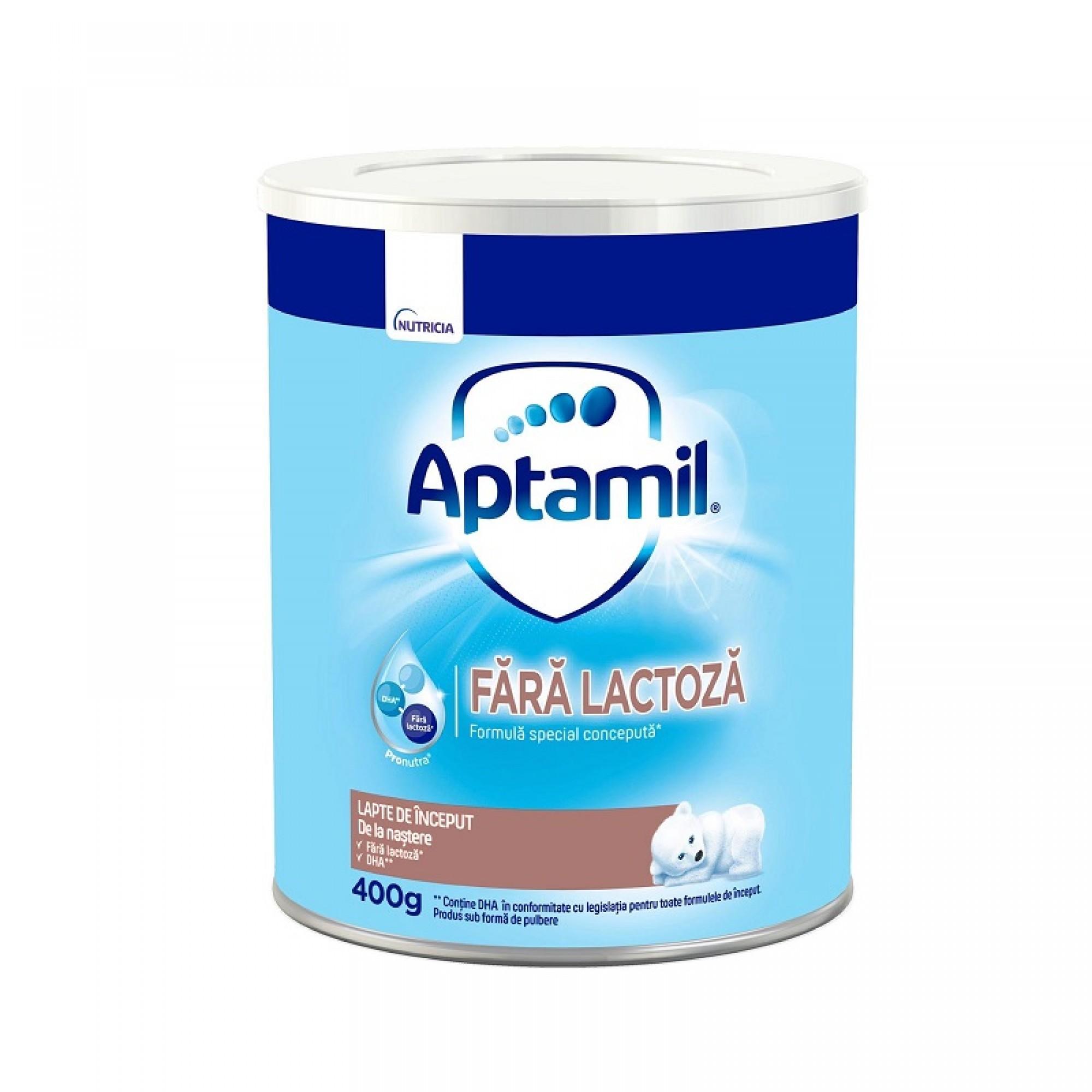 Aptamil fara lactoza Nutricia - 400g de la 0 luni