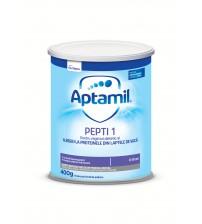 Lapte praf Nutricia pentru alergii si intolerante usoare, Aptamil Pepti 1, 400g, 0luni+