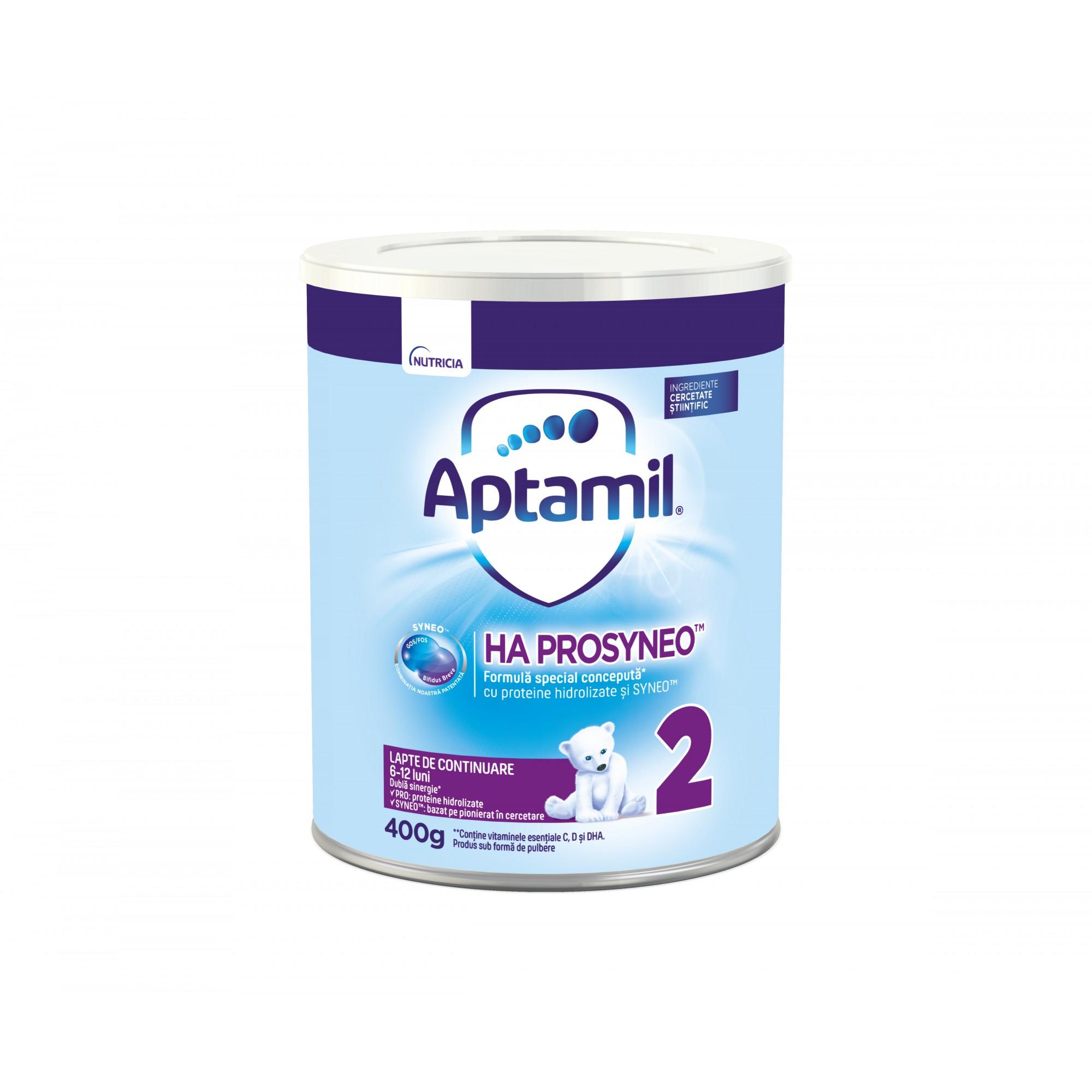 Lapte de inceput Nutricia, Aptamil HA2 Prosyneo, 400g